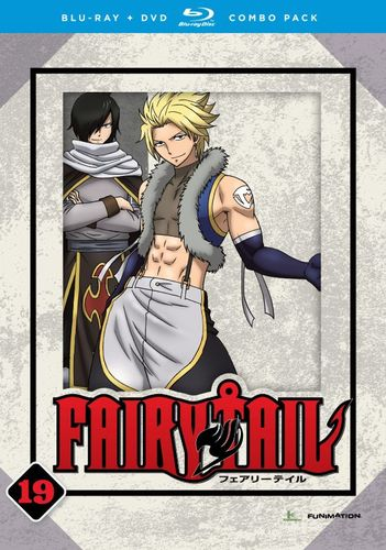 Fairy Tail: Part 19 [DVD/Blu-ray] [4 Discs] [Blu-ray/DVD] 4837607