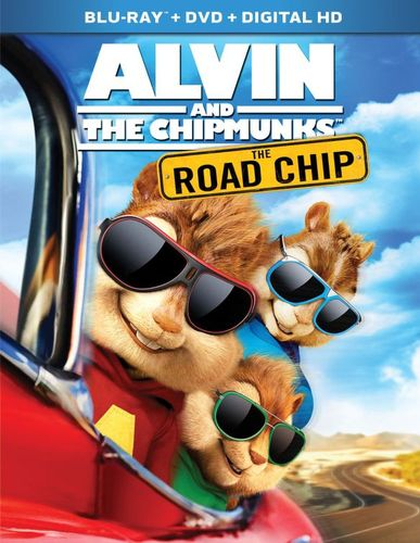 Alvin and the Chipmunks: The Road Chip [Includes Digital Copy] [Blu-ray/DVD] [2015] 4839900