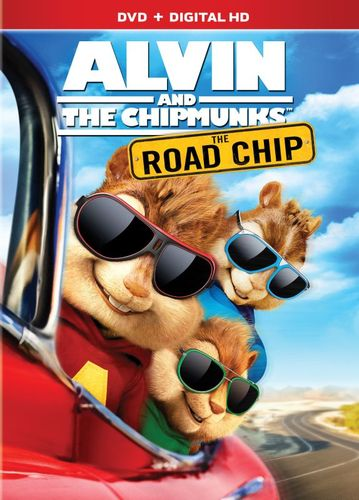 Alvin and the Chipmunks: The Road Chip [DVD] [2015] 4840000