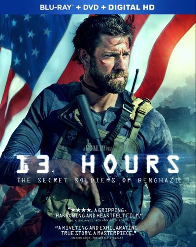 13 Hours: The Secret Soldiers of Benghazi [Blu-ray/DVD] [2016] 4840700