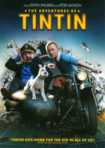 The Adventures of Tintin [Includes Digital Copy] [UltraViolet] [DVD] [2011] 4843659