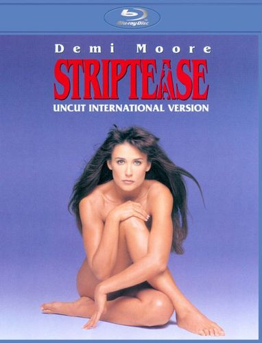 Striptease [Uncut International Version] [Blu-ray] [1996] 4843777