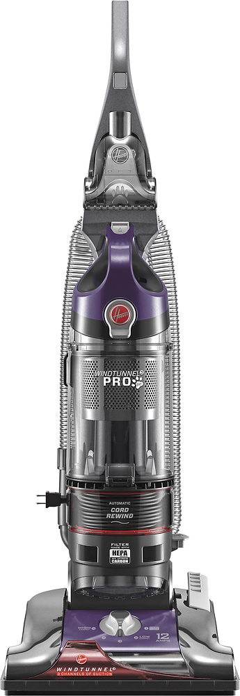 Hoover WindTunnel 3 Pro Bagless Pet Upright Vacuum Purple UH70936