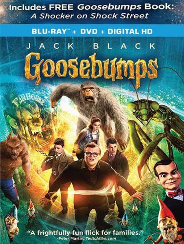 Goosebumps [Includes Digital Copy] [Blu-ray/DVD] [2 Discs] [Only @ Best Buy] [2015] 4849701