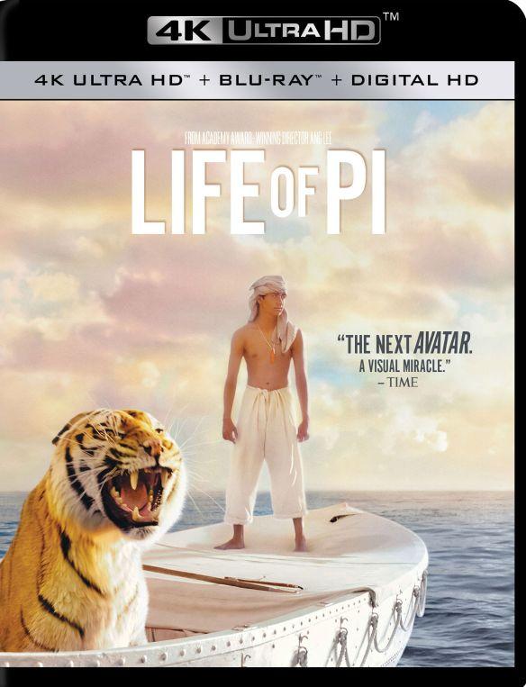 Life of Pi [4K Ultra HD Blu-ray/Blu-ray] [Includes Digital Copy] [2012] 4856502