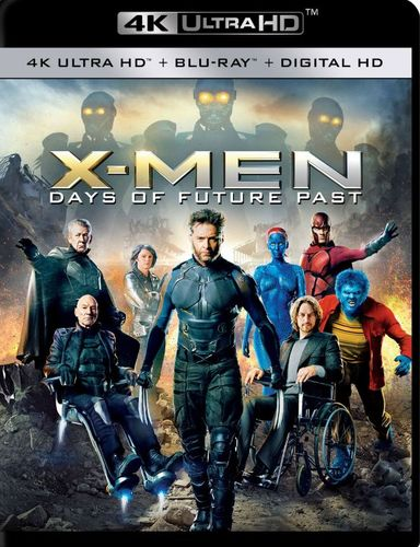 X-Men: Days of Future Past [4K Ultra HD Blu-ray/Blu-ray] [Includes Digital Copy] [2014] 4856507