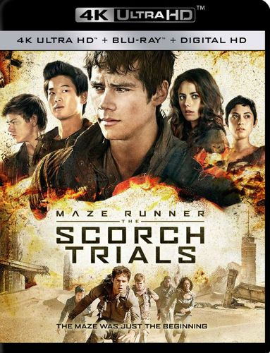 The Maze Runner: The Scorch Trials [4K Ultra HD Blu-ray/Blu-ray] [Includes Digital Copy] [2015] 4856509