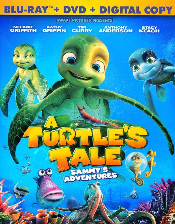 A Turtle's Tale: Sammy's Adventures [2 Discs] [Blu-ray/DVD] [2010] 4861451