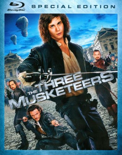 The Three Musketeers [Blu-ray] [2011] 4863635
