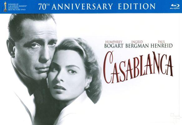 Casablanca [70th Anniversary Edition] [3 Discs] [Blu-ray/DVD] 4863662