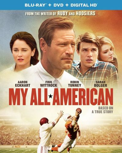 My All American [Includes Digital Copy] [UltraViolet] [Blu-ray/DVD] [2 Discs] [2015] 4870900