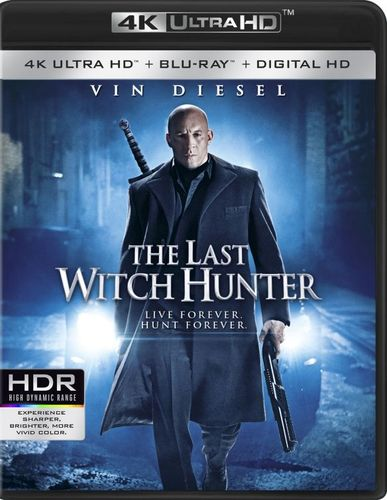 The Last Witch Hunter [4K Ultra HD Blu-ray/Blu-ray] [Includes Digital Copy] [2 Discs] [2015] 4880901