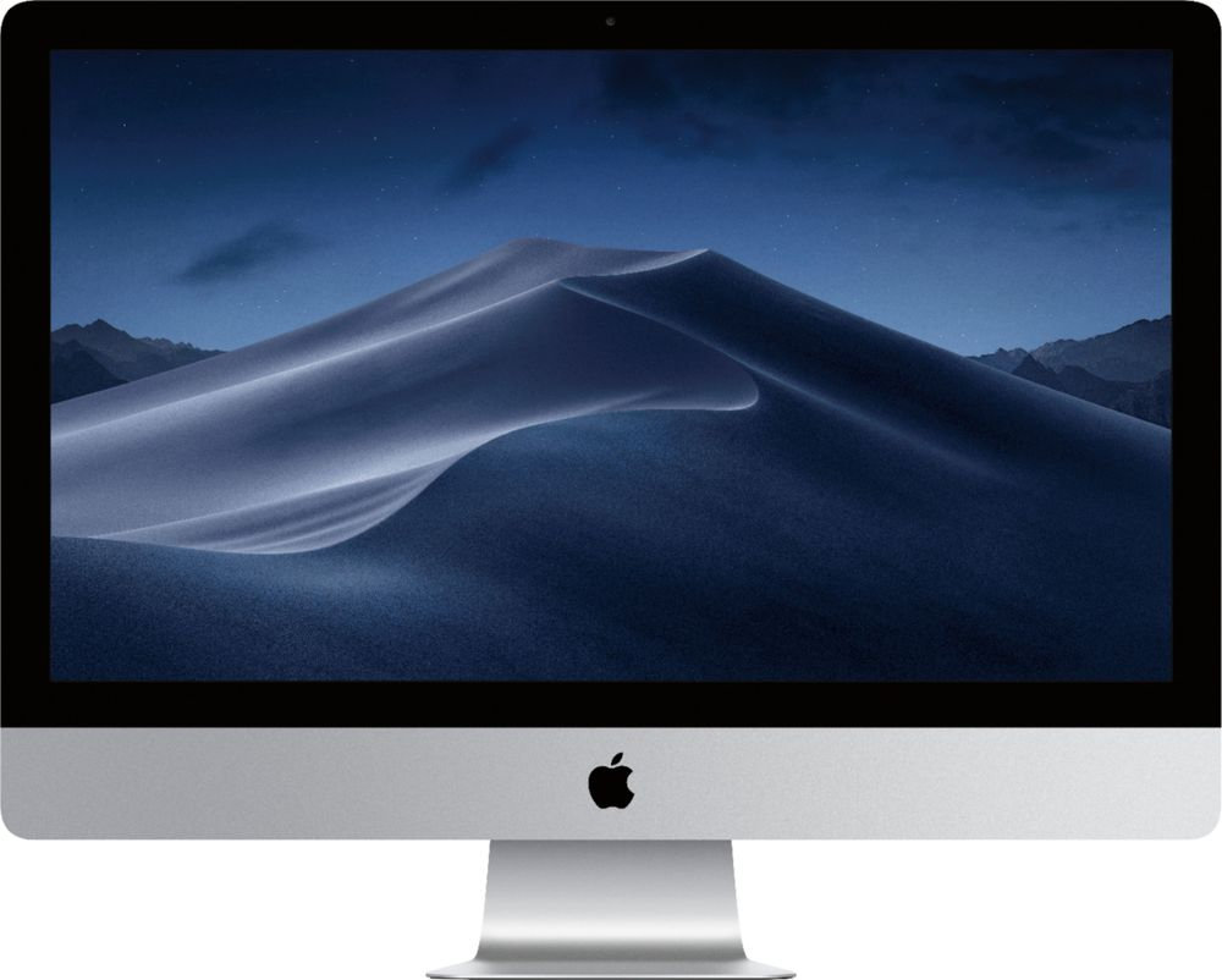 "Apple 27"" iMac (Latest Model) Intel Core i5 (3.8GHz) 8GB Memory 2TB Fusion Drive Silver MNED2LL/A"
