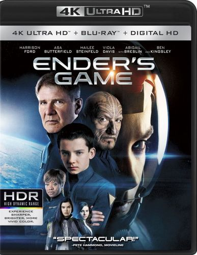 Ender's Game [4K Ultra HD Blu-ray/Blu-ray] [Includes Digital Copy] [2 Discs] [2013] 4881704