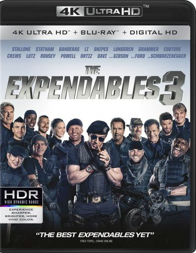 The Expendables [4K Ultra HD Blu-ray/Blu-ray] [Includes Digital Copy] [2 Discs] [2014] 4881901