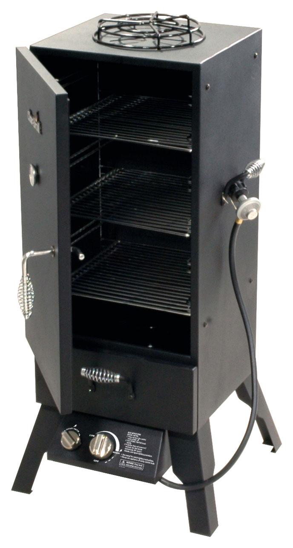 Char-Broil - Vertical Gas Smoker - Black