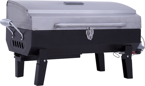 Char-Broil - Tabletop Gas Grill - Stainless-Steel