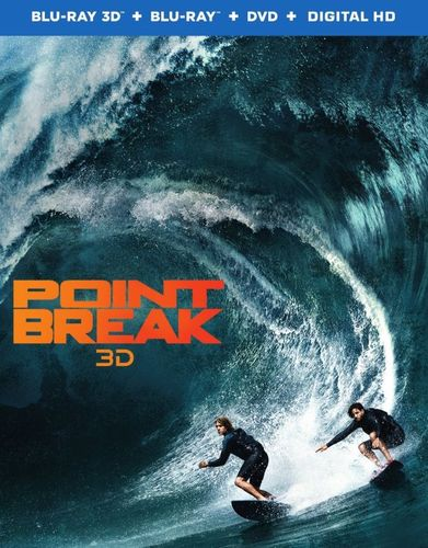Point Break [3D] [Blu-ray] [Blu-ray/Blu-ray 3D] [2015] 4894503