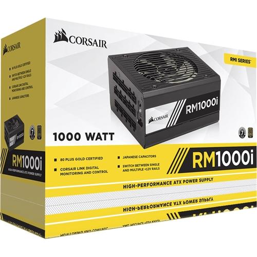 Corsair RMi Series 1000W Modular  ATX Power Supply Black CP-9020084-NA