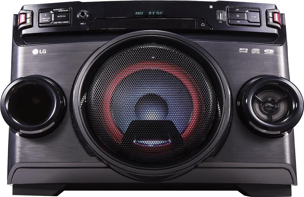 LG 220W Hi-Fi Entertainment System Black OM4560