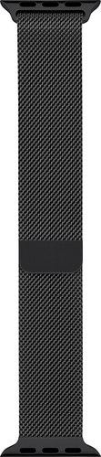Apple - Milanese Loop for Apple Watch 38mm - Space Black