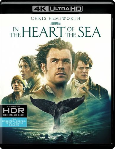 In the Heart of the Sea [4K Ultra HD Blu-ray/Blu-ray] [2015] 4901134