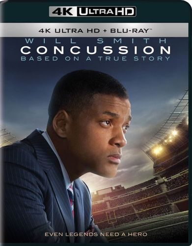 Concussion [Includes Digital Copy] [4K Ultra HD Blu-ray] [2015] 4901149