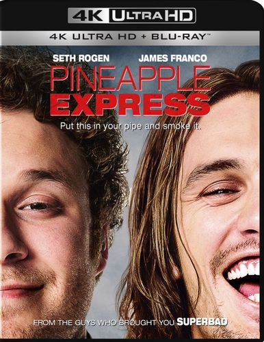Pineapple Express [Includes Digital Copy] [4K Ultra HD Blu-ray/Blu-ray] [2008] 4901150