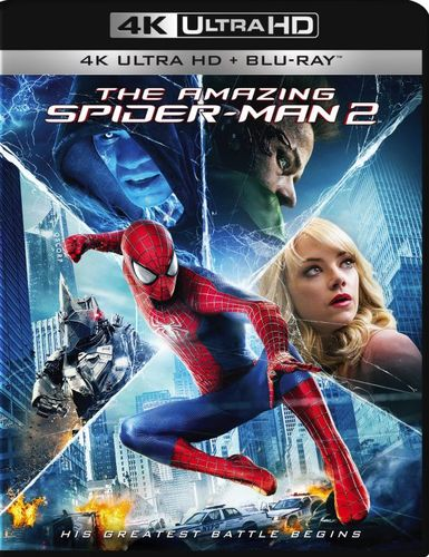 The Amazing Spider-Man 2 [Includes Digital Copy] [4K Ultra HD Blu-ray/Blu-ray] [2014] 4901151