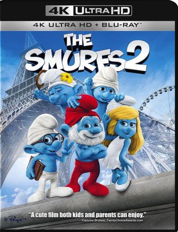 The Smurfs 2 [Includes Digital Copy] [4K Ultra HD Blu-ray/Blu-ray] [2013] 4901153