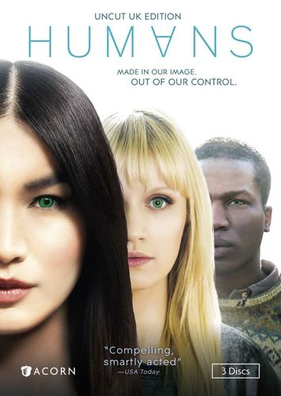 Humans: Season 1 [2 Discs] [DVD] 4901508