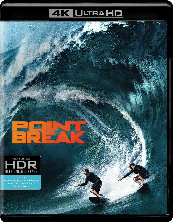 Point Break [4K Ultra HD Blu-ray/Blu-ray] [2015] 4901521