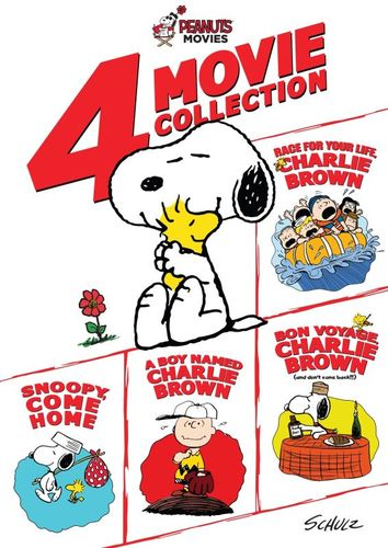 Peanuts: 4 Movie Collection [4 Discs] [DVD] 4901807