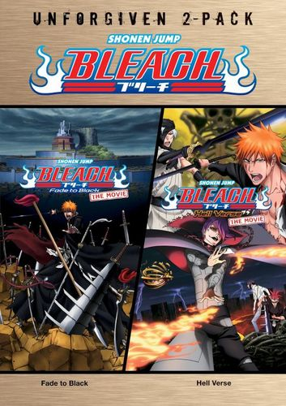 Bleach: Unforgiven 2-Pack - Bleach: Fade to Black/Bleach: Hell Verse [2 Discs] [DVD] 4903302