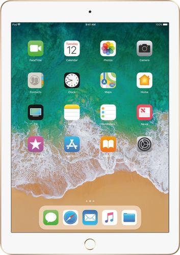 Apple - iPad (5th generation) with WiFi - 128GB - Gold