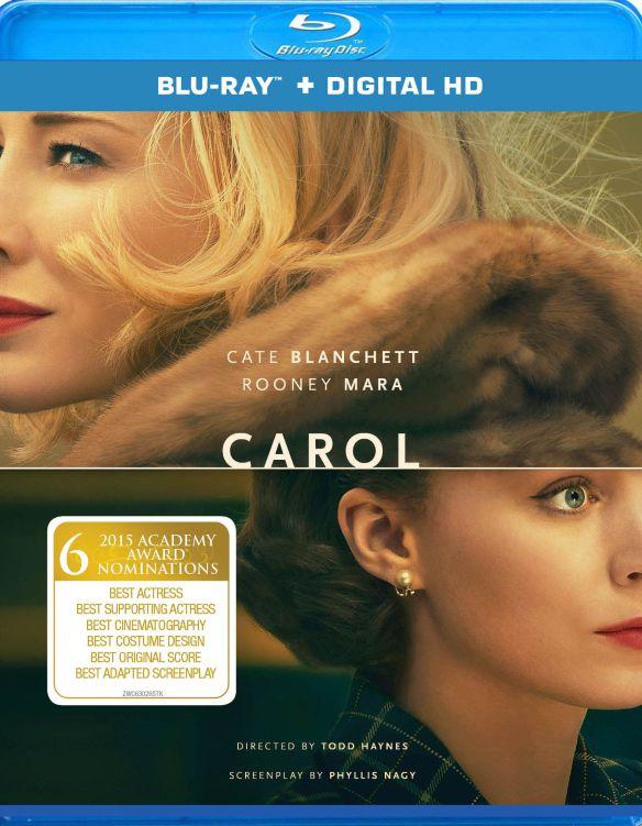 Carol [UltraViolet] [Includes Digital Copy] [Blu-ray] [2015] 4918400