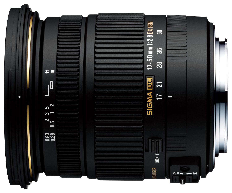 Sigma 17-50mm F2.8 Ex Dc Os Hsm Fld Large Aperture Standard Zoom Lens For Canon Digital Dslr Camera