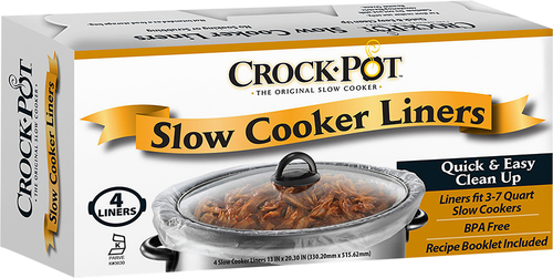 Slow Cooker Liners (4-pack) 4142690001
