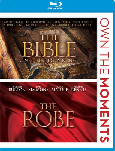 The Bible: In the Beginning/The Robe [2 Discs] [Blu-ray] 4952012