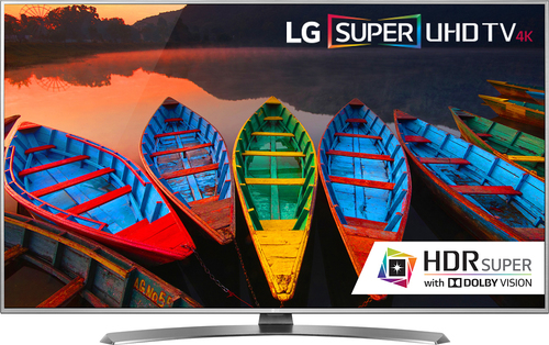 "LG - 55"" Class (54.6"" Diag.) - LED - 2160p - Smart - 4K Ultra HD TV with High Dynamic Range - Silver"