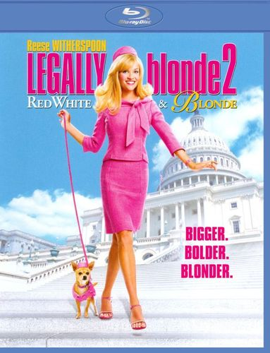 Legally Blonde 2: Red, White & Blonde [Blu-ray] [2003] 4954038