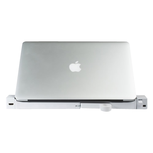 LandingZone - DOCK Express Secure Docking Station for 13-inch MacBook Pro with Retina Display - white