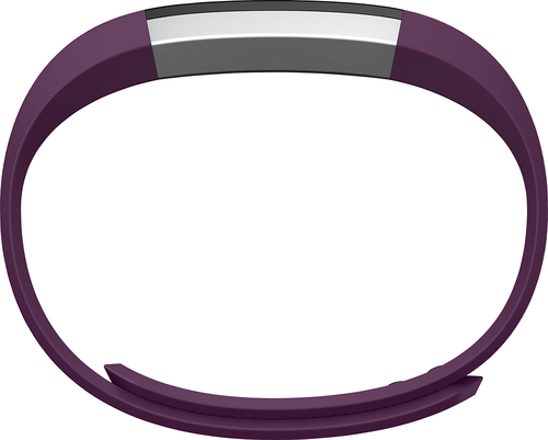 Fitbit - Alta Classic Accessory Band for Fitbit Alta Wireless Activity and Sleep Tracker - Plum