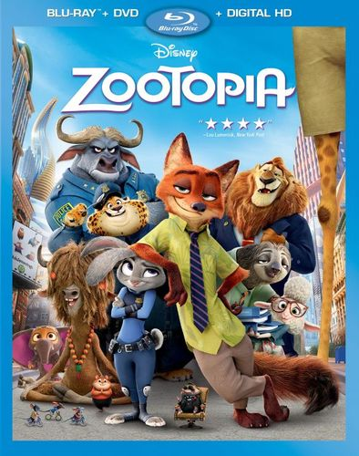 Zootopia [Includes Digital Copy] [Blu-ray] [2016] 4968501