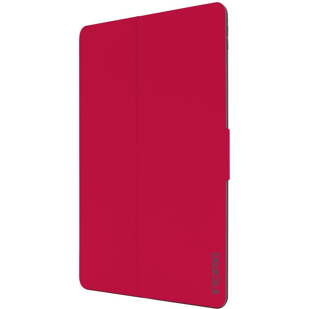 Incipio CLARION SHOCK ABSORBING TRANSLUCENT FOLIO for Apple 12.9-inch iPad Pro Red, Transparent IPD-286-RED