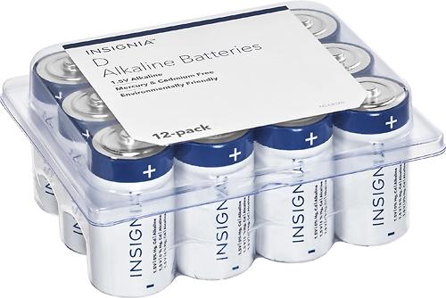 Insignia™ - D Batteries...