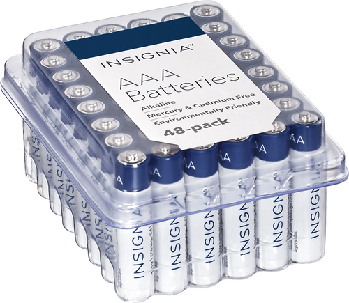Insignia™ - AAA Batteries (48-Pack)