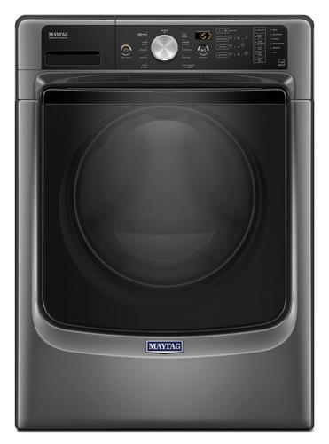 Maytag - 4.5 cu. ft. 11-Cycle Front Loading Washer - Metallic Slate