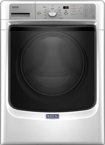Maytag - 4.5 cu. ft. 11-Cycle Front Loading Washer - White