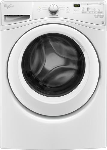 Whirlpool - 4.5 cu. ft. 8-Cycle High-Efficiency Front Load Washer - White 4978238